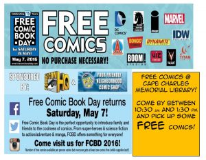 Free Comic Book Day @ CCML