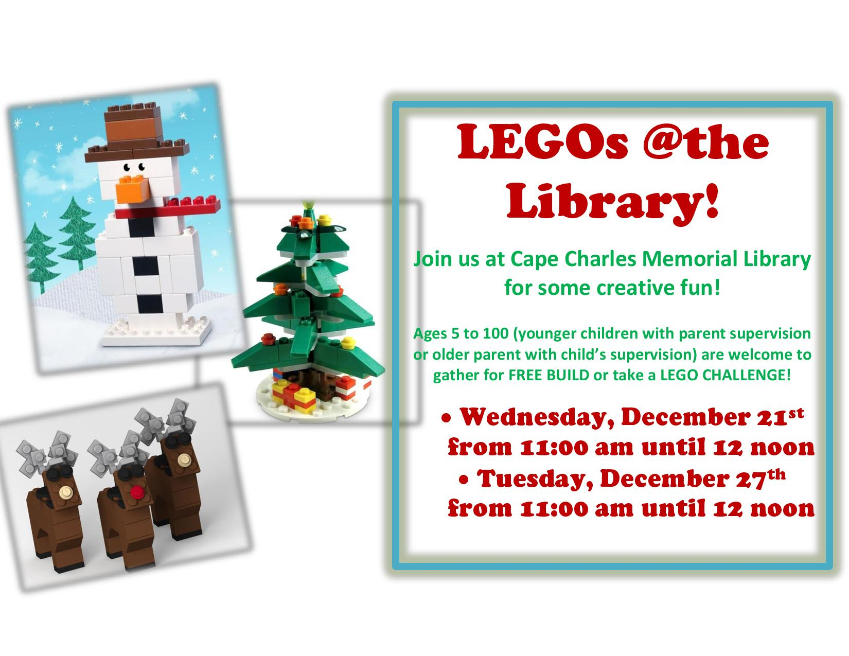 LEGOs @the Library @ Cape Charles Memorial Library | Cape Charles | Virginia | United States