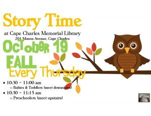 Story Time - FALL @CCML