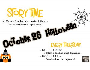 Story Time - Halloween @CCML