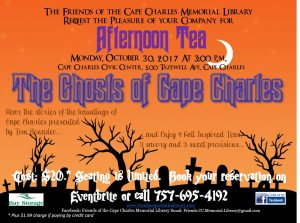 The Ghosts of Cape Charles - Afternoon Tea @ Cape Charles Civic Center | Cape Charles | Virginia | United States