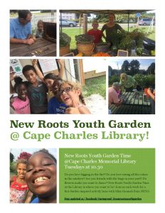 New Roots Youth Garden @CCML