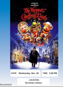 Movie showing of The Muppet Christmas Carol-Accomac Library @ ESPL MAIN | Accomac | Virginia | United States