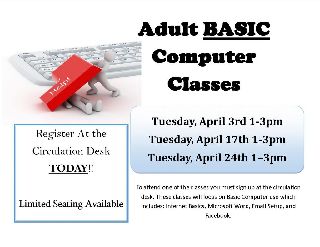 Adult Basic Computer Classes @ Northampton Free Library | Nassawadox | Virginia | United States