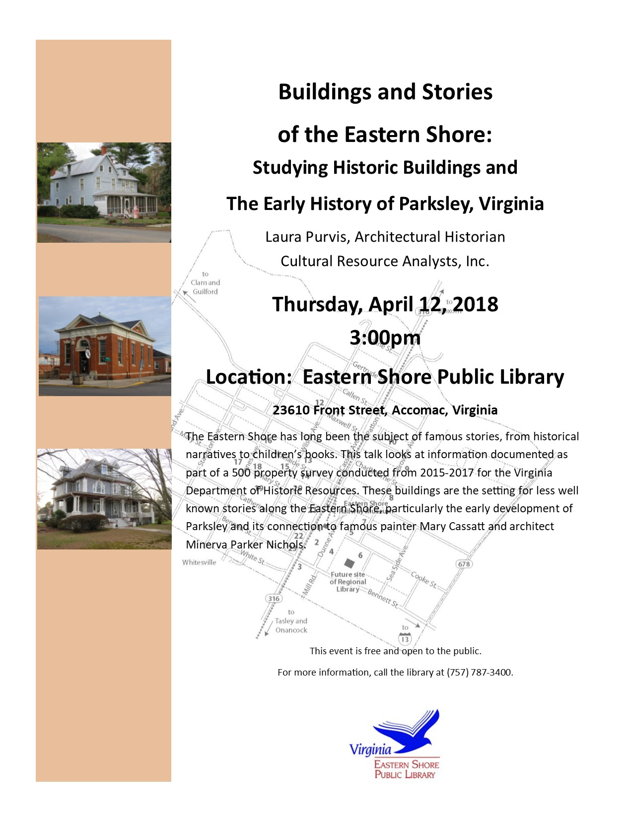 Buildings and Stories of the Eastern Shore @ ESPL MAIN | Accomac | Virginia | United States