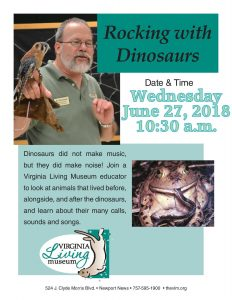 Rocking with Dinosaurs - Virginia Living Museum