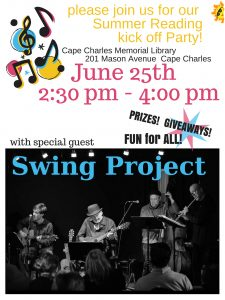 Summer Reading Party! @ Cape Charles Memorial Library