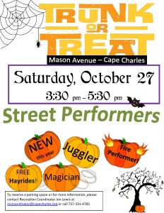 Trunk or Treat @ Town of Cape Charles