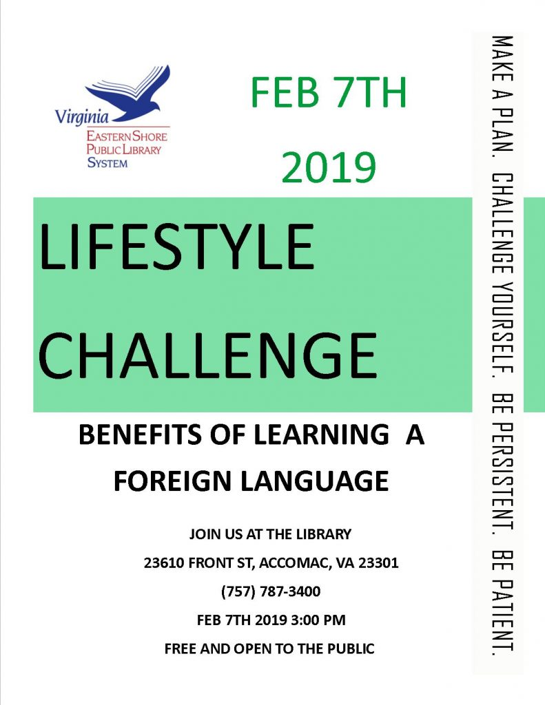 Benefits of Learning a Foreign Language @ ESPL Main