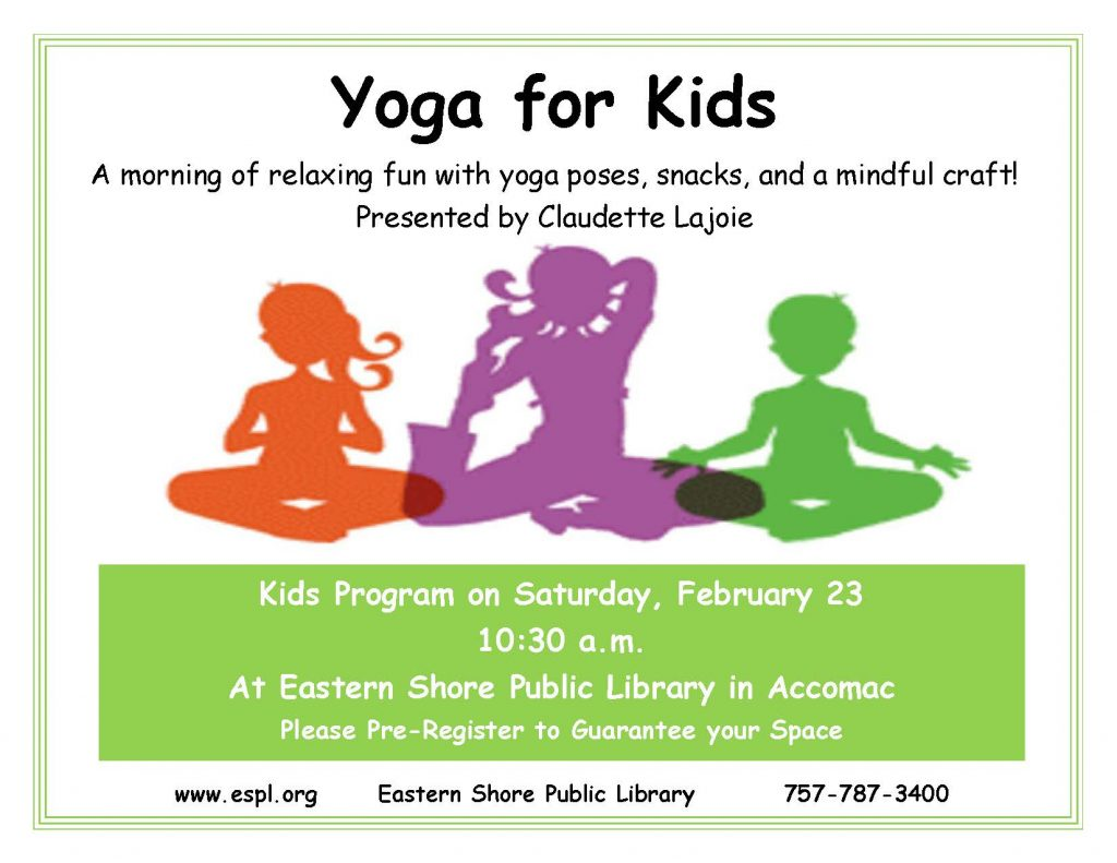 Yoga for Kids @ ESPL Main