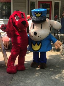 Clifford the Big Red Dog and Dav Pilkey's Dog Man visit @ EASTERN SHORE PUBLIC LIBRARY