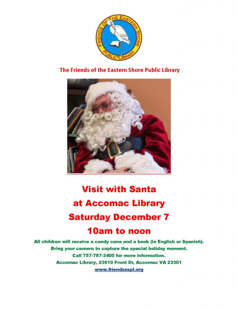 Santa at the Library @ Eastern Shore Public Library