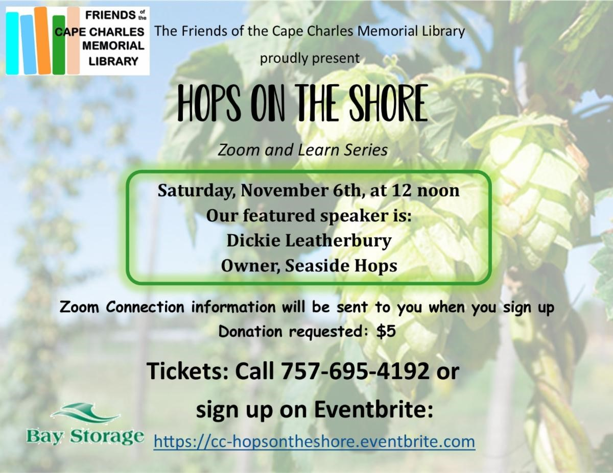 Hops on the Shore (Zoom & Learn series)